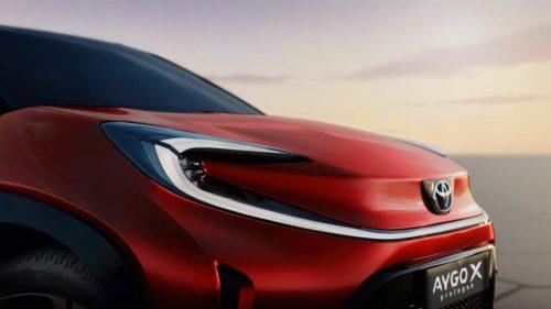 Toyota Aygo X Prologue concept: Europe's next A-segment contender