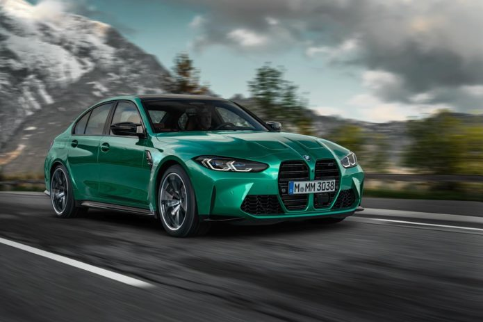 2021 BMW M3 Looks Forward by Looking Back