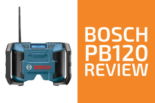 Bosch PB120 Review: A Good Jobsite Radio?