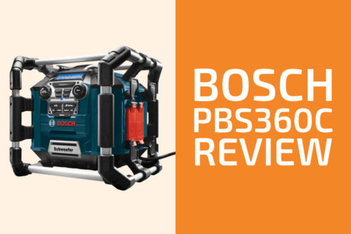 Bosch PB360C Review: A Good Jobsite Radio?