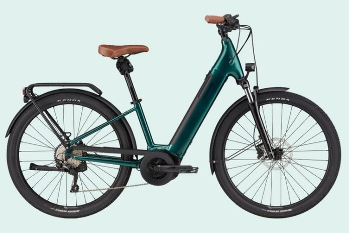 Cannondale Adventure Neo 1EQ E-Bike Comes With 85-Mile Range, 20-MPH Top Speed, And Built-In Garmin Radar