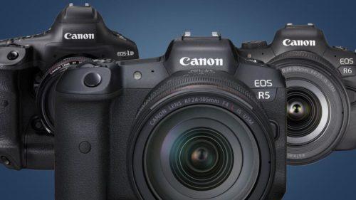 Canon Firmware Updates : EOS R5, R6, 1D X Mark III, RF 70-200 f/2.8L & RF 100-500 f/4.5-7.1L
