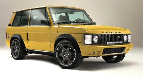 Chieftain Xtreme Is Classic Land Rover Range Rover Restomod With 700 HP