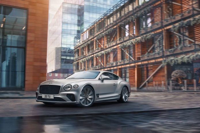 2022 Bentley Continental GT Speed Packs 650 HP, New Chassis Tech