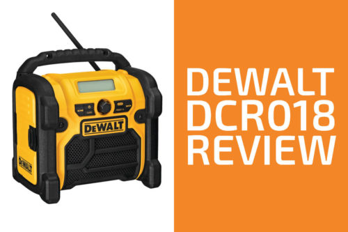 DeWalt DCR018 Review: A Good Jobsite Radio?