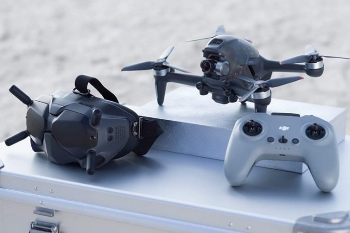 DJI FPV Combines Cinematic Shooting Chops With Race-Ready 87-MPH Top Speed
