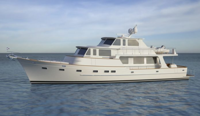 Fleming 85 first look: This globetrotting flagship is a mini tri-deck superyacht