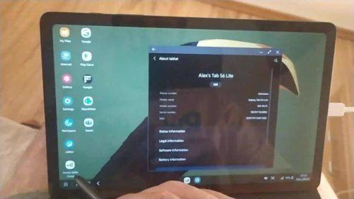 Galaxy Tab S6 Lite finally gets Samsung DeX feature