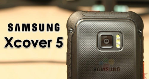 Samsung Galaxy Xcover 5 specifications appear on Google Play Console