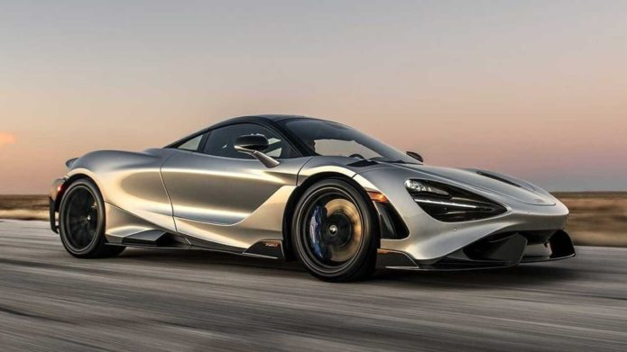 Hennessey McLaren 765 LT HPE1000 has a 1,000HP twin-turbo V8 engine
