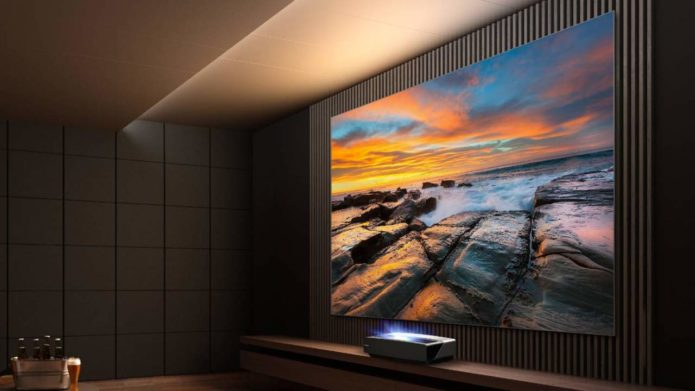 """Hisense 120"""" L5F Series Laser Cinema offers 4K theater experience at home"""
