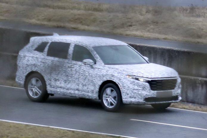 SPY PICS: Larger new Honda CR-V snapped