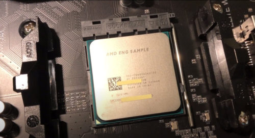 Some dude is selling an AMD Ryzen 5000 APU before it's launched