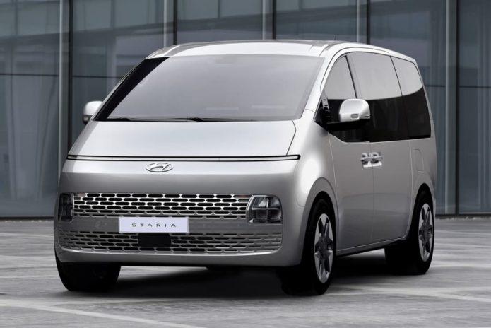 New Hyundai Staria revealed in full