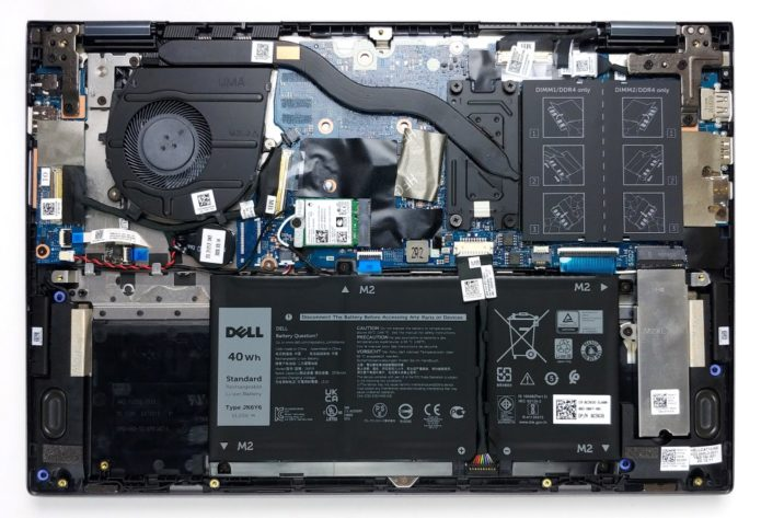Inside Dell Inspiron 14 5406 2-in-1 – disassembly and upgrade options