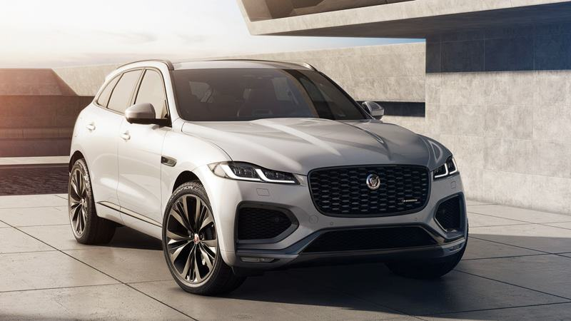 2021 Jaguar F-Pace First Look