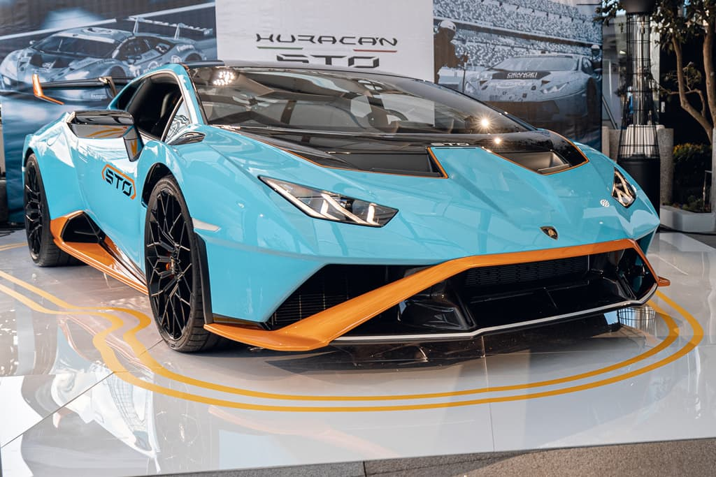 Lamborghini Huracan STO lands in Oz