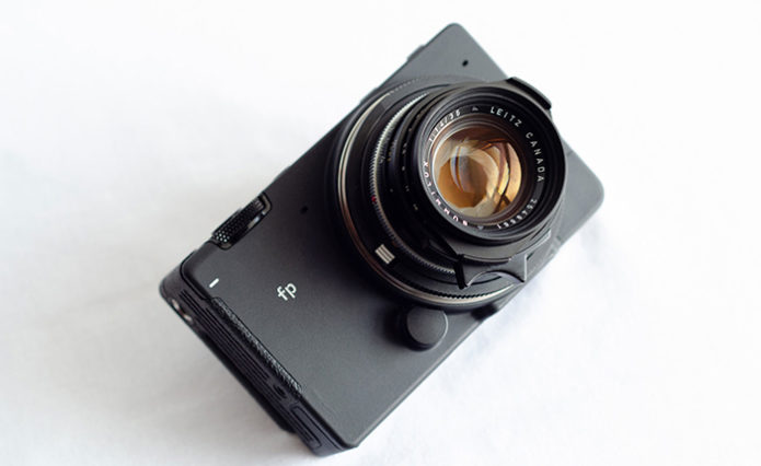 Sigma FP L leak suggests it'll be a unique modular full-frame camera