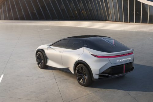Lexus LF-Z Electrified Revealed As Tech-Laden Concept With Bold Look