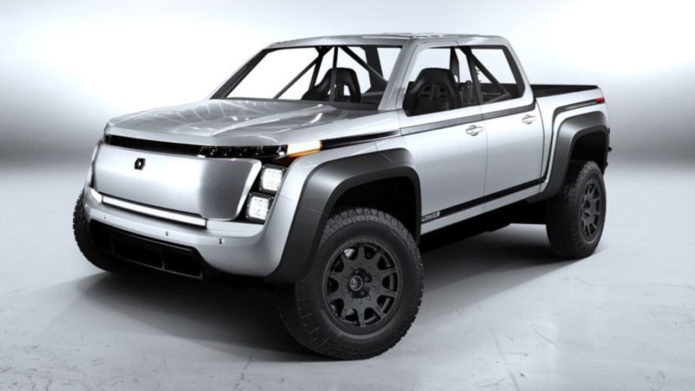 Lordstown Motors shows off Endurance race truck concept