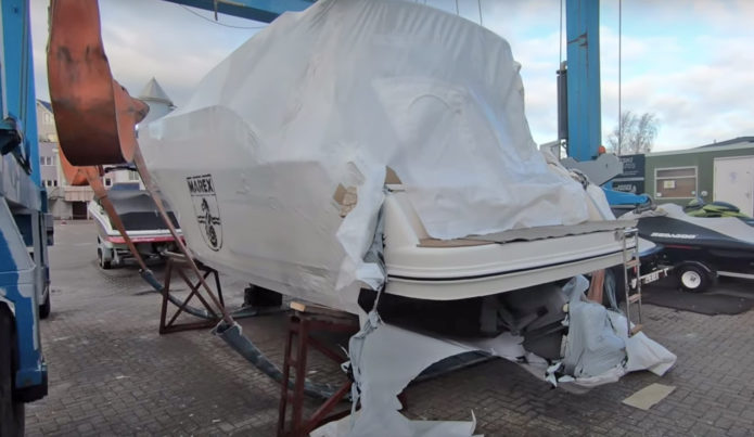 Marex 310 unboxing: We unwrap a brand new factory-fresh £235k boat