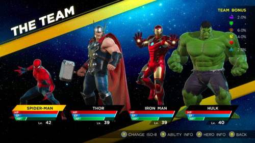 How to assemble the best squad in Marvel Ultimate Alliance 3
