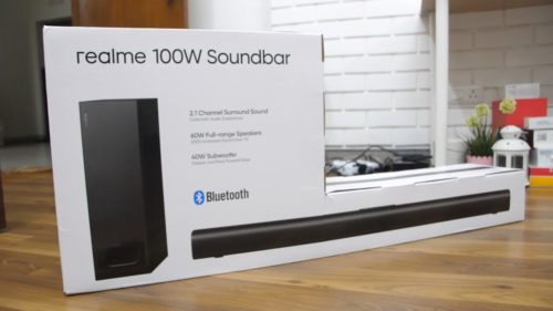 realme 100W Bluetooth Soundbar Hands-on