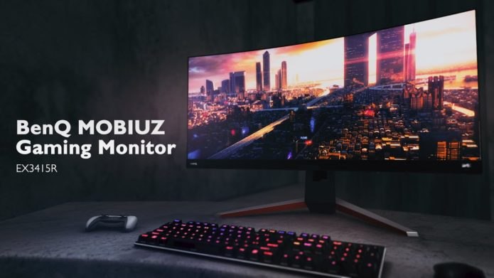 BenQ Mobiuz EX3415R Leaked – Upcoming 144Hz Ultrawide Gaming Monitor