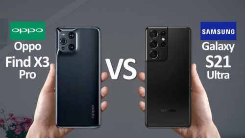 Oppo Find X3 Pro vs Samsung Galaxy S21 Ultra: two camera kings compete