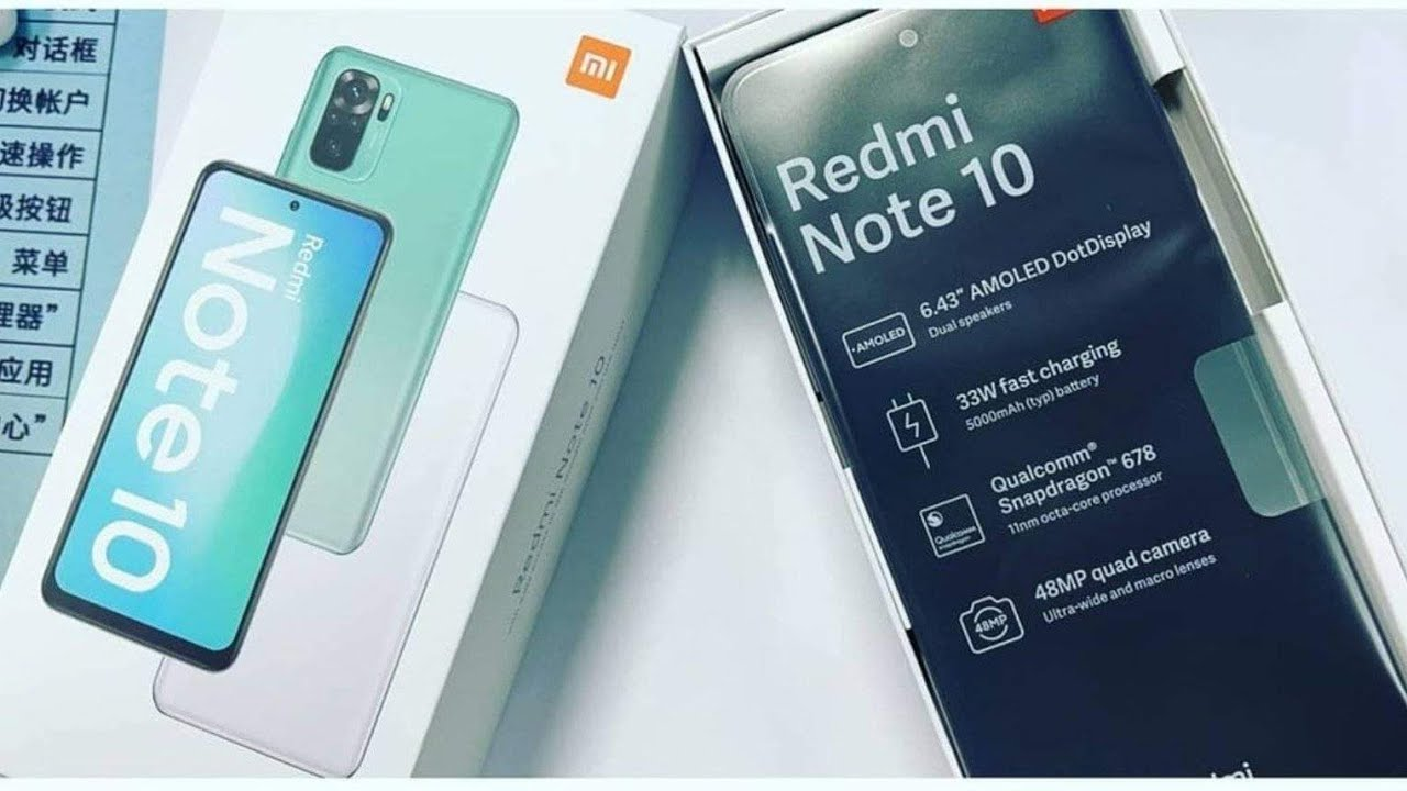 Xiaomi Redmi Note 10 images leak ahead of launch