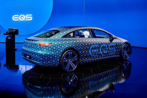 Electric Mercedes EQS is world's most aerodynamic car