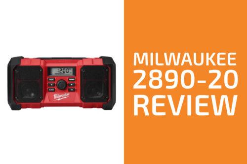 Milwaukee 2890-20 Review: A Good Jobsite Radio?