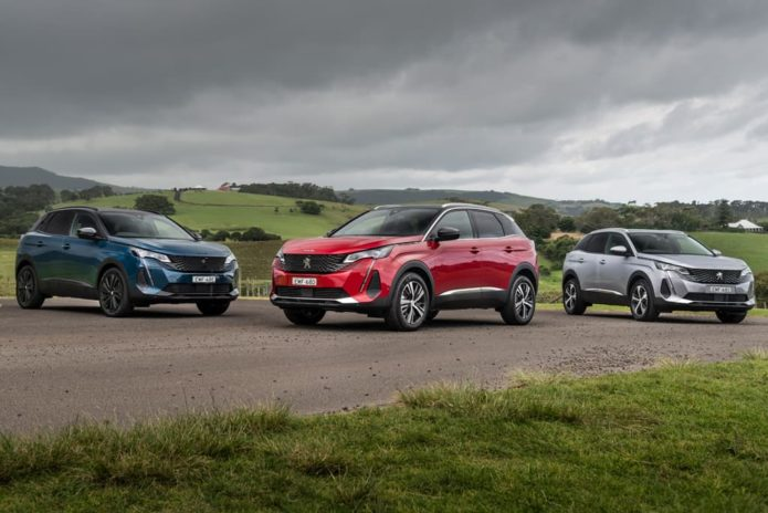 Upgraded 2021 Peugeot 3008 and 5008 arrive in Oz