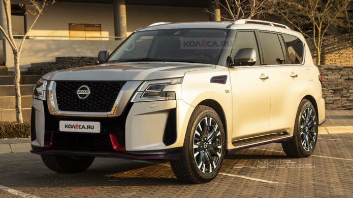 Nissan Patrol Warrior flips to 2022