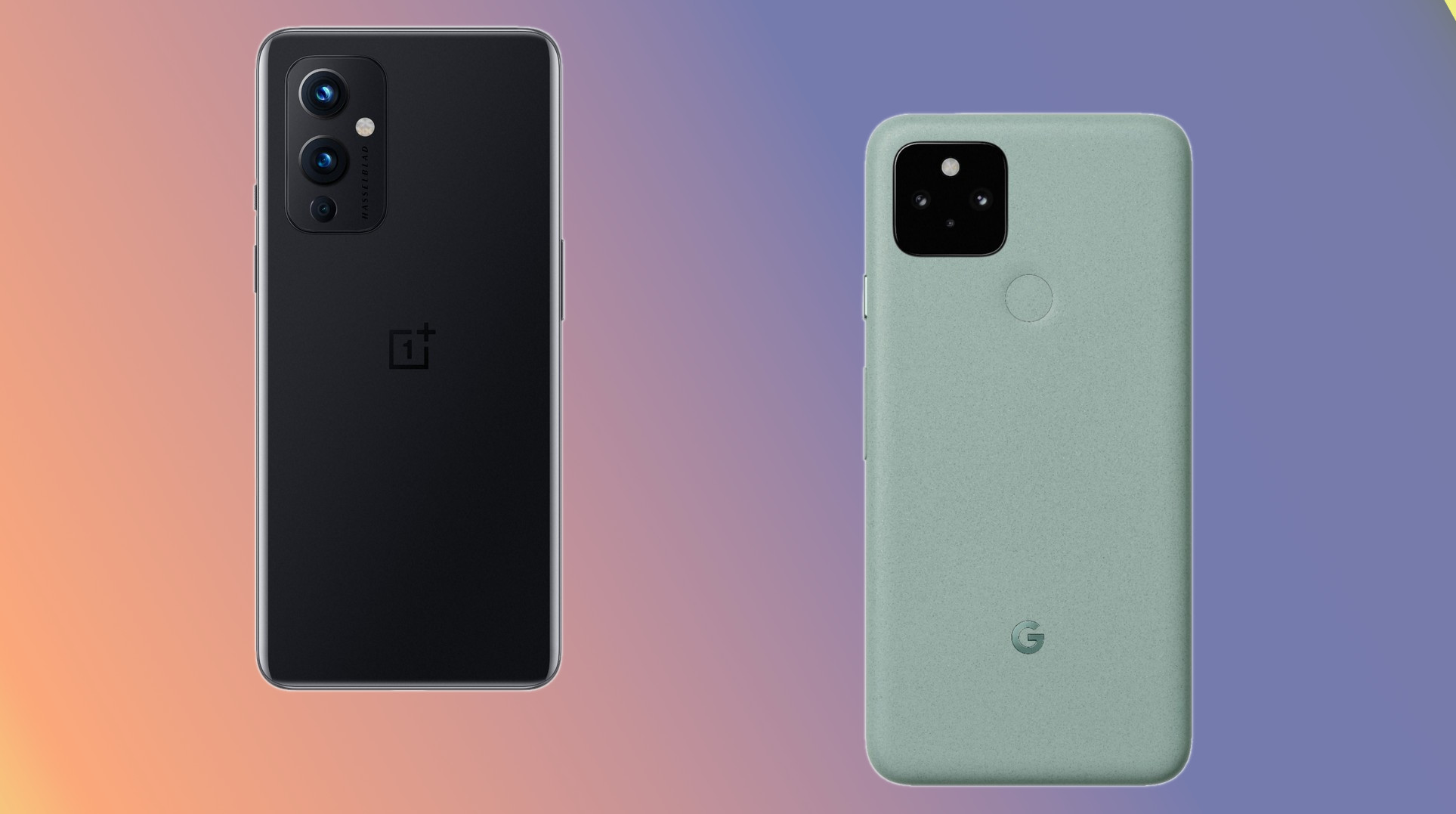 OnePlus 9 vs Google Pixel 5: Should you go with OnePlus or Google?