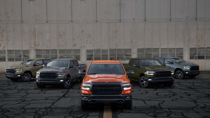 """The final phase of Ram's limited-edition """"Build to Serve"""" truck line launches"""