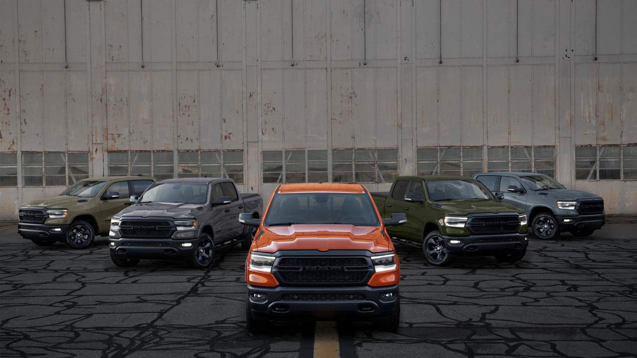 "The final phase of Ram's limited-edition ""Build to Serve"" truck line launches"