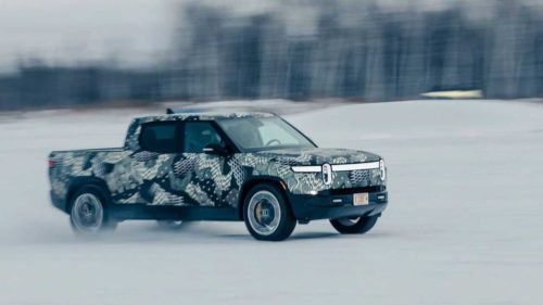 Rivian R1T cold-weather testing commences in frigid Minnesota