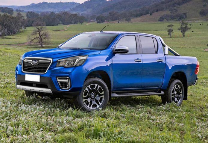 Reborn Subaru Brumby busts out