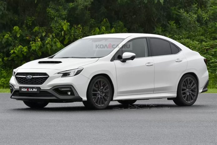 New Subaru WRX looks the goods, sort of…