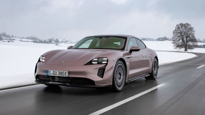 Entry-level 2021 Porsche Taycan official EPA ratings revealed