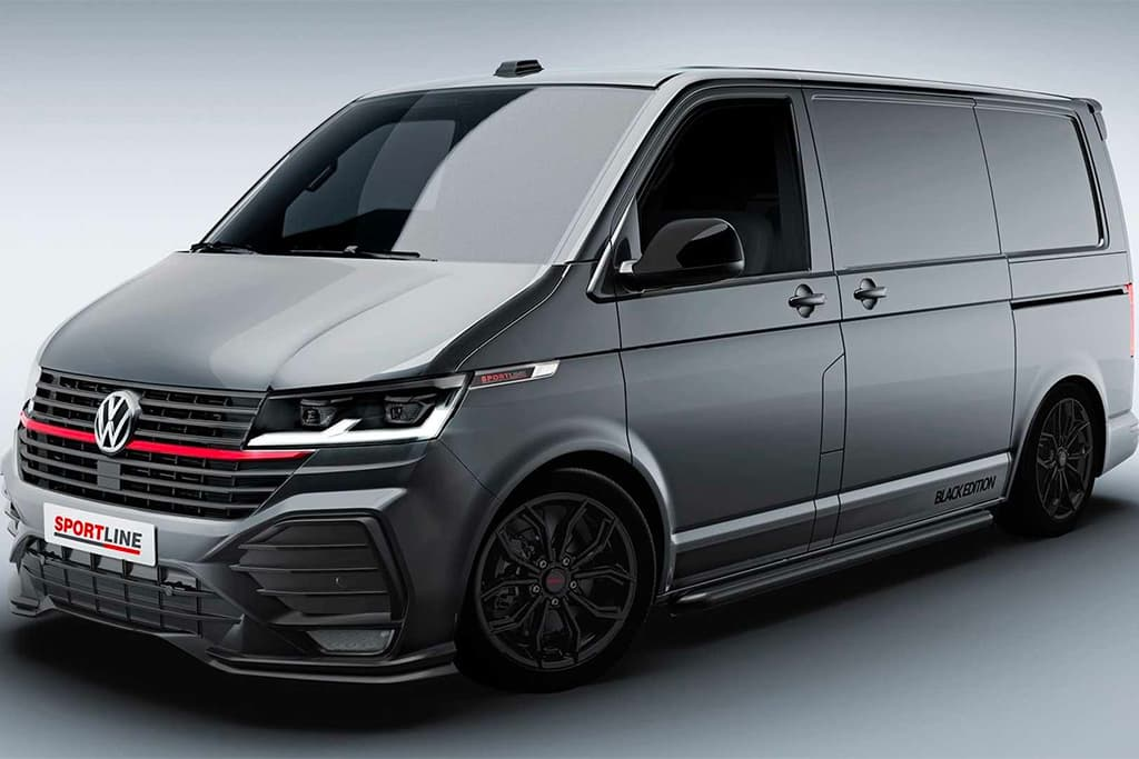 Volkswagen Transporter given GTI treatment