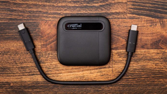 Crucial X6 2TB portable SSD review