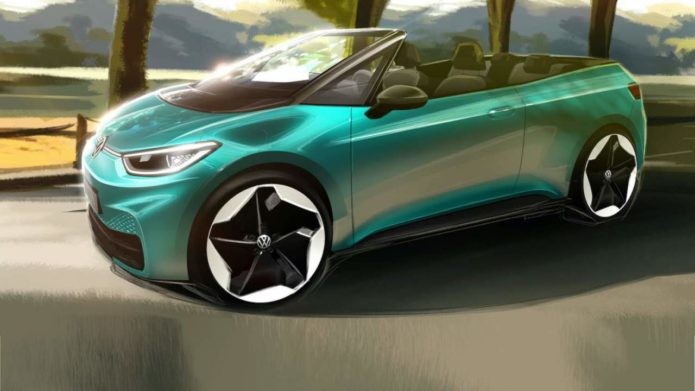 VW ID.3 Convertible teased as Volkswagen tries new electric strategy