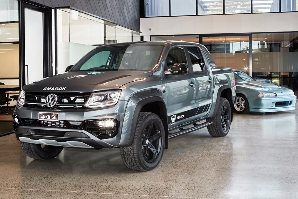 First Volkswagen Amarok W580 rolls off the line