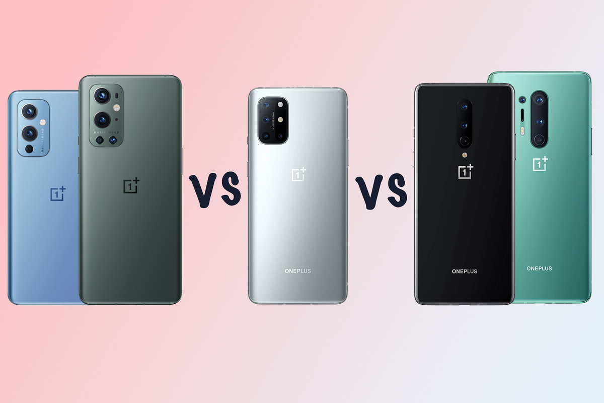 OnePlus 9 vs OnePlus 8T vs OnePlus 8 Pro: Which should you buy?