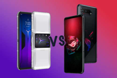 Lenovo Legion Phone Duel 2 vs ROG Phone 5: What's the difference?