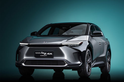 Toyota BZ4X Concept in pictures: Brand's first dedicated electric car features solar charging