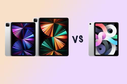 Apple iPad 11 Pro (2021) vs iPad Pro 12.9 (2021) vs iPad Air (2020): What's the difference?