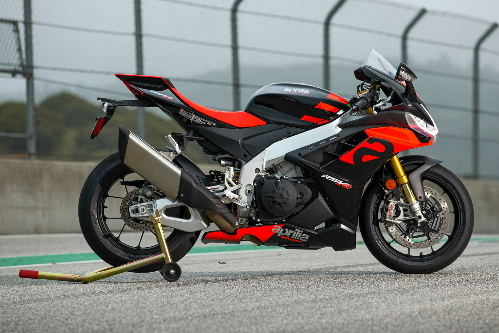 2021 Aprilia RSV4 Factory Review (20 Fast Facts From Laguna Seca)